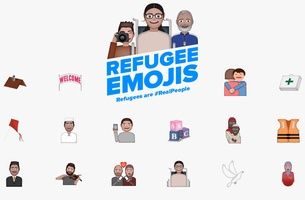 USA for UNHCR and SuperHeroes NY Launch Emoji Campaign to Change the Way We Look at Refugees | LBBOnline