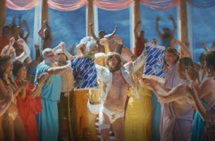 Mount Olympus Parties Hard in Brilliant New Spot for ALDI