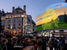 David Hockney's Animated Sunrise Premieres on Outdoor Advertising Landmarks in Four Global Cities