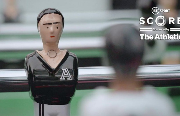 The Athletic HQ's Table Football Players Star in BT Sport Score Idents from Harbour