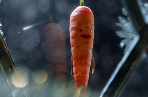 John Mayes at Marshall Street cuts Aldi 'Kevin The Carrot'