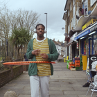 Hula Through the Neighbourhood with Lucozade's Positive Energy Spot