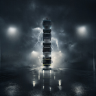 Volvo Built a Tower from Four of its New Trucks in Another Epic Stunt
