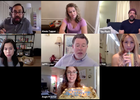 Benji Weinstein Opens a Window into the Reality of Unwanted Zoom Meetings