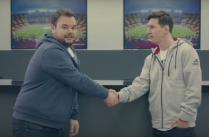 Messi, Ryan Giggs & a Llama Come Together for W+K Amsterdam's FIFA Doc