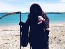The Swim Reaper Saves Lives for Water Safety NZ's Latest Campaign
