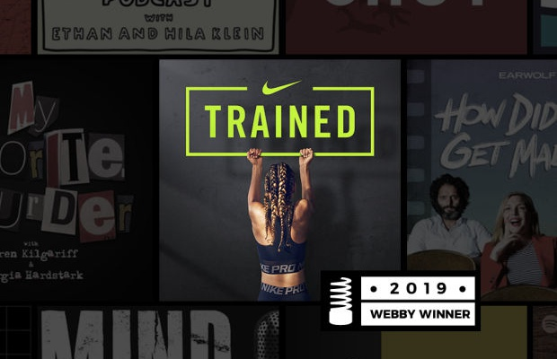 AnalogFolk Wins Webby for 'Best Branded Podcast or Segment' with Nike TRAINED Podcast