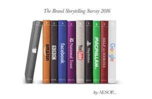 Apple Revealed as UK's Top Storytelling Brand