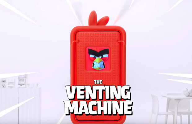 Angry Birds 'Venting Machine' Turns Your Rage into Prizes