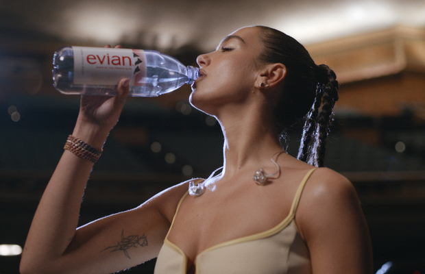 Dua Lipa Takes on Her Truest Form for Global Evian Campaign