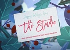 the STUDIO Sends More Than a Card This Christmas