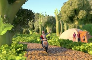 How Animatrix Created a Wonderful World of Food for Just Eat