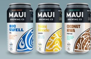 Maui Brewing Collaborates with The Butler Bros for Bold New Branding
