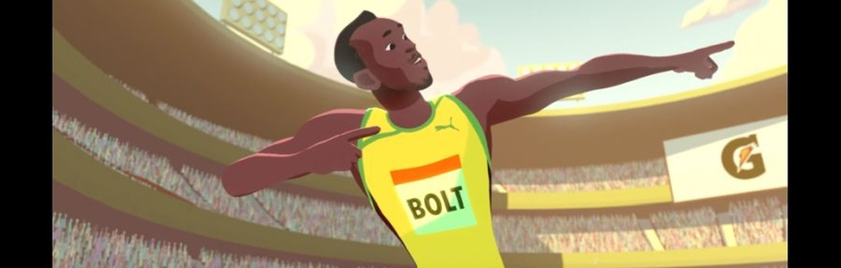 Young Usain Bolt Learns to Fly in This Gorgeously Animated Film