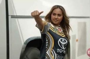 Jessica Mauboy Lets Her Bias Loose in Latest Foxtel Sport Campaign