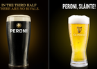 Peroni and Guinness Celebrates Rugby Sportsmanship by Switching Glasses