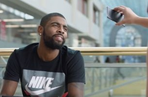 Kyrie Irving Gets His Game On in New Kids Foot Locker Week of Greatness Spot