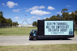 Leo Burnett Puts the Heat on PM Malcolm Turnbull to Switch off for Earth Hour in its Latest Campaign