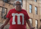 Lucky M&M Transforms into Danny DeVito in Super Bowl Ad