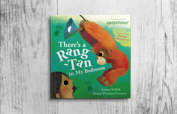 Hachette Publishes Children's Book Adaptation of Greenpeace's Rang-Tan Film