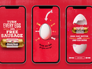 Jimmy Dean Hijacks America's National Egg Day with Free Sausages