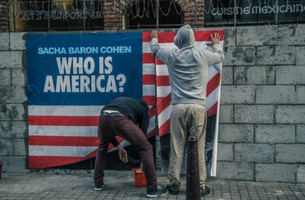BetTV Walls Up Mexican Restaurant Fronts to Launch Sacha Baron Cohen's 'Who Is America?'