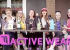 Activewear Clip Spreads Like Wildfire
