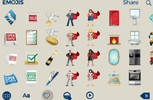 RTO+P Creates CARmojis, an Emoji Keyboard for California Realtors