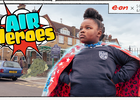 E.ON Energy and Fashion Brand Scamp & Dude's Superpowered Cape Helps Kids Become 'Air Heroes'