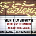 Factory's Short Film Showcase Returns for 2019