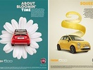 Krow's New Fiat Ads are Bloomin' Gorgeous