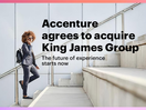 Accenture to Acquire King James Group, One of the Largest Independent Creative Agencies in South Africa