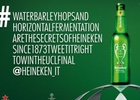 Heineken Turns a Super Long Hashtag into a Ticket for the UCL Final