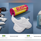 IKEA Delivers Surprising Sleep Benefits by Disguising Reliable Bedding as Body Supplements