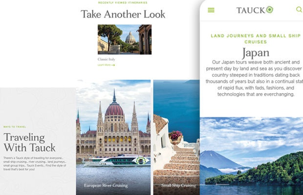 Isobar and Firstborn Reimagine Luxury Travel Site Tauck
