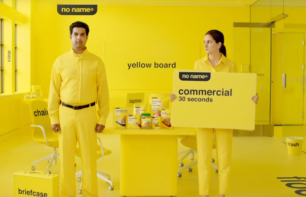 'No Name' Grocery Brand Goes Back to Basics with These Hilariously Simple Ads
