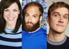 Caviar Signs Maggie Carey, Ben Sinclair and Bo Burnham
