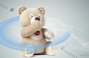 Ector The Protector Bear is The World's First Passive Smoke Detector Toy