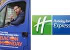 Holiday Inn Express Turns Blue Monday into Bacon Monday