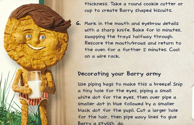 Bake Your Own Barry the Biscuit With New Cravendale