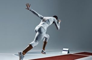 This Long Jump Suit is Made from the Same Material as a SKYN Condom