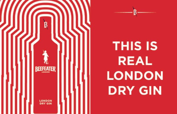 Beefeater Gin Launches First UK OOH Campaign in 12 Years