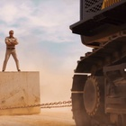 Dolph Lundgren Puts Volvo Excavators Through the Most Epic Drill Ever