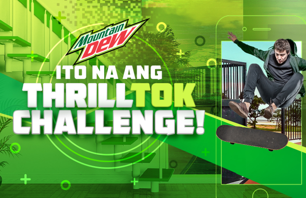 BBDO Guerrero and Mountain Dew Bring Thrills Home with the ThrillTok Challenge