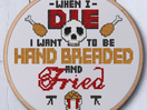 KFC's Sassy Cross Stitch Patterns Are Finger Stitchin' Good