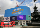 Government Puts Safety at the Heart of Kickstarting the Economy with Takeover of Piccadilly Lights