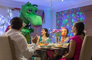 Ogilvy Australia's Etcom Brings a Happy Diwali to St. George Campaign