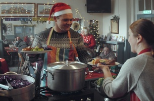 Tesco Christmas Ad Celebrates Foodbanks and Charitable Programmes