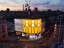 Young Westminster Foundation Presents Digital Artwork by STIK on London's Piccadilly Lights