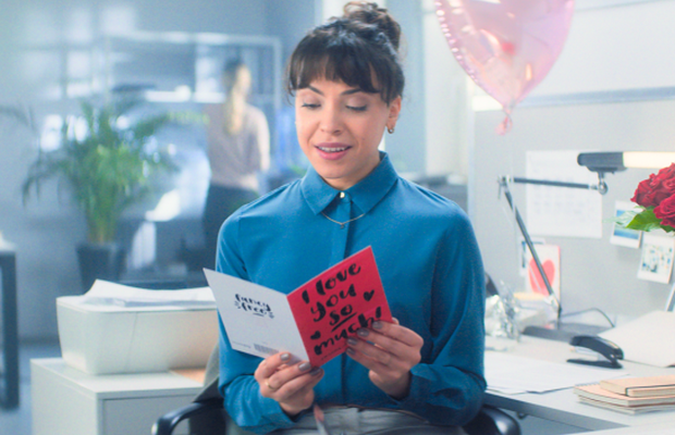 Moonpig's Valentine's Day Spot Proves 'Heartfelt Can Happen Anywhere'